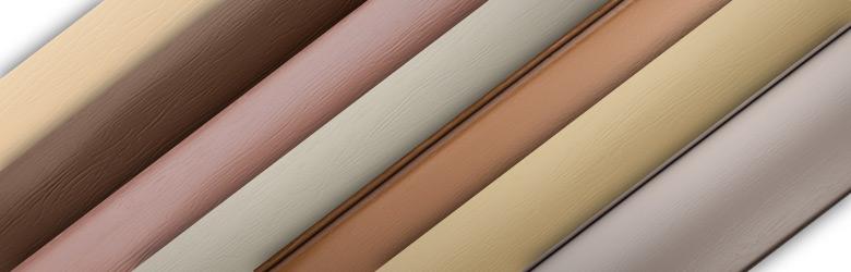 Цветовая гамма коллекции «Блок-хаус»